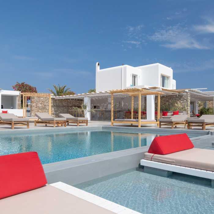 Destiny Resort Mykonos - Main pool area