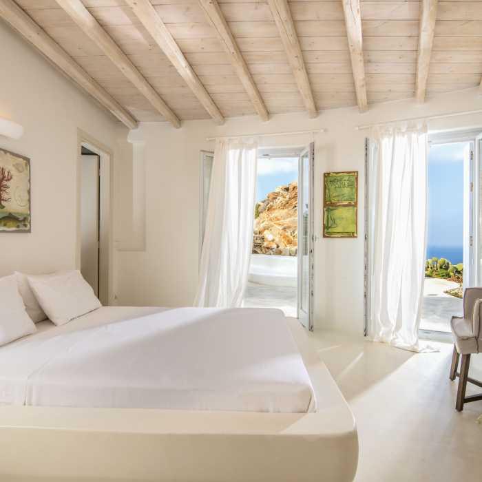 Villa Melmastia Mykonos - Master Bedroom